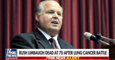Rush Limbaugh Dead