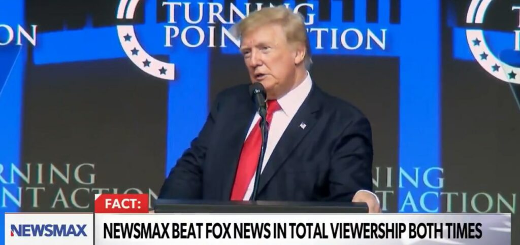 trump speech turning point